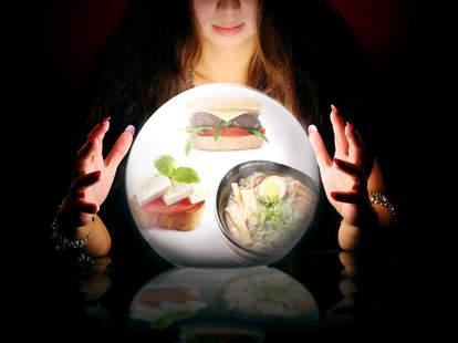 psychic food predictions