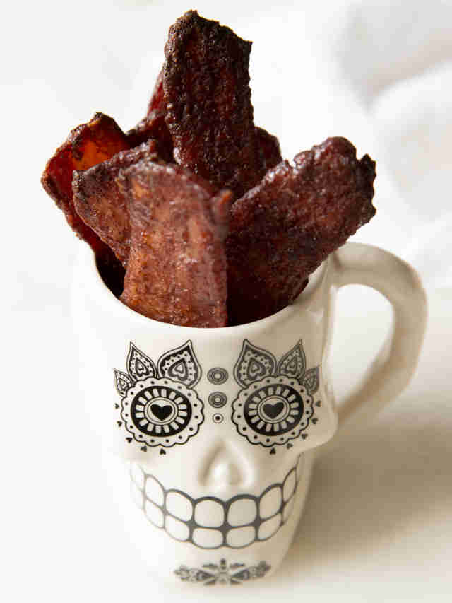 Cinnamon-sugar bacon