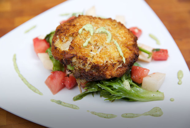 Crab cakes worth doing very bad things for