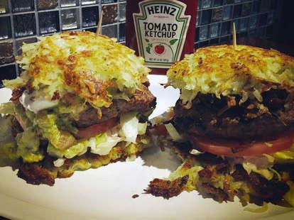 gotham burger latke hanukkah