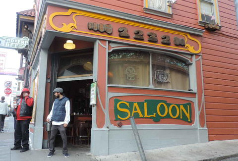 The Saloon in San Francisco