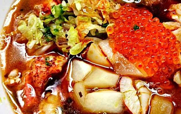 Warm up with Lobster Ramen in the East Village