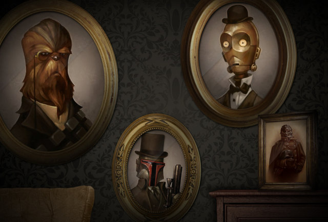 Those aren\'t the portraits you\'re looking for. But these are.