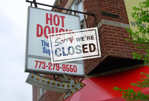 hot doug's closed