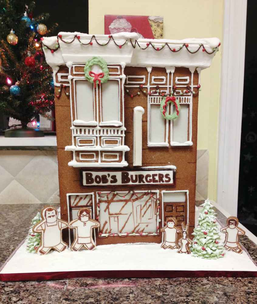 Bobs burgers gingerbread house thrillist