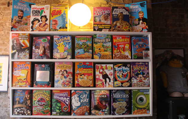 5 bizarre British cereals at the UK's first cereal-only restaurant