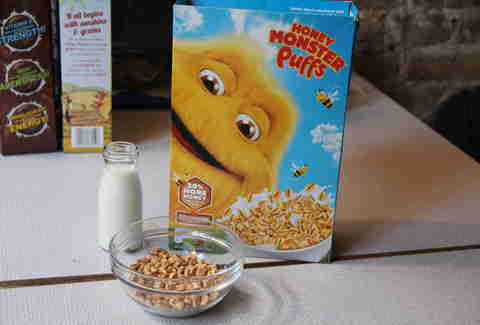 Sugar Puffs cereal