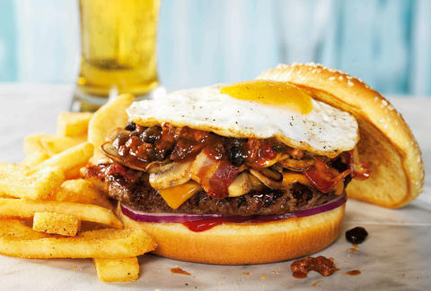 red robin cure burger
