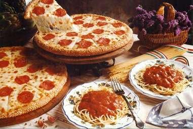 Little Caesars spaghetti
