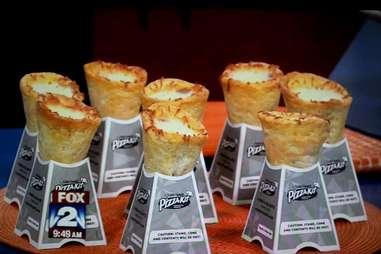 Little Caesars pizza cones