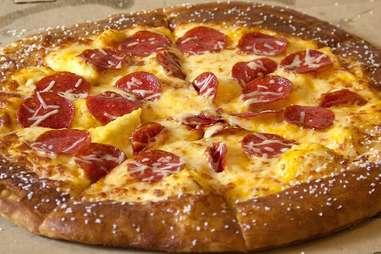 Little Caesars pretzel pizza