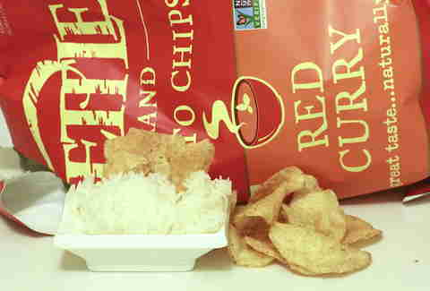 red curry Kettle Chips
