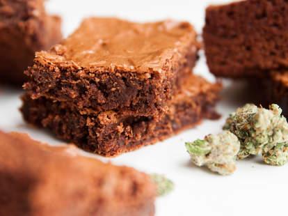 Pot Brownies — Thrillist Recipes