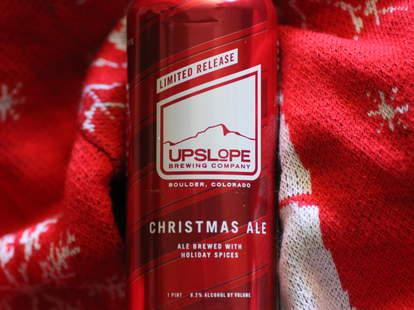 Upslope Christmas ale