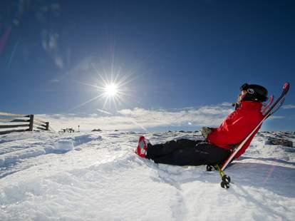 Ski bum