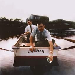 Rowing on the bottling lake
