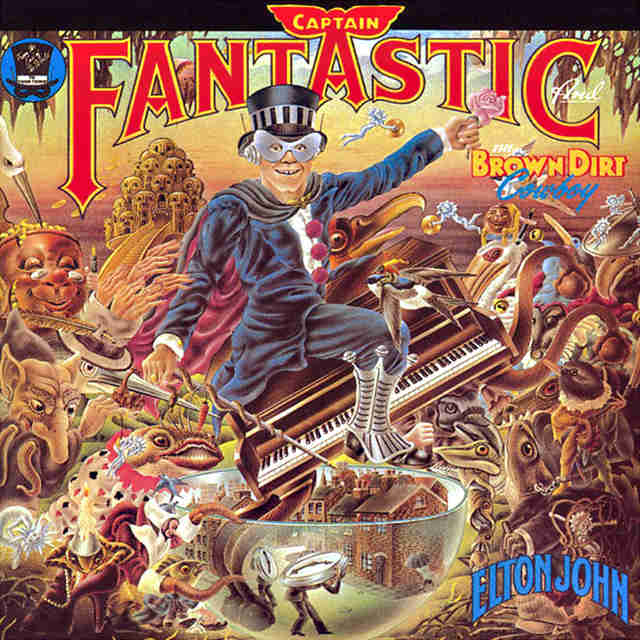 Captain Fantastic Brown Dirt album cover