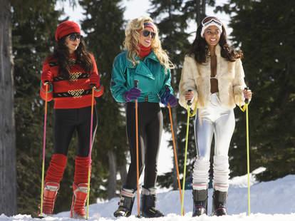 Skiing 80s
