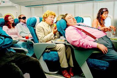 Fat guy reclining seat