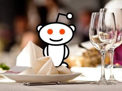 Reddit restaurant table
