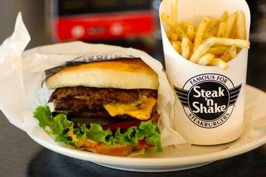 double steakburger steak n shake