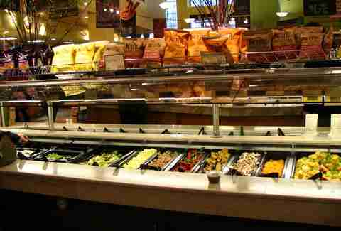 whole foods salad bar