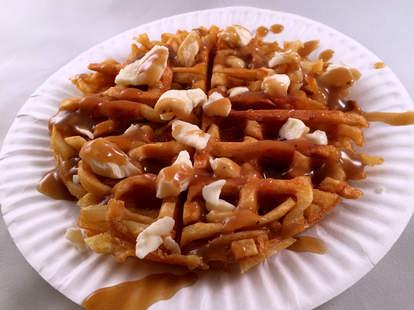 poutine waffle