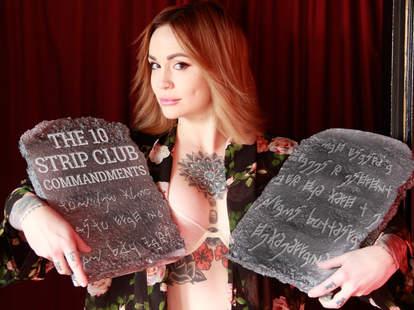 Stripper commandments