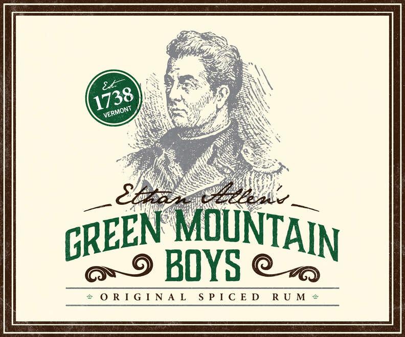 Allen spiced rum