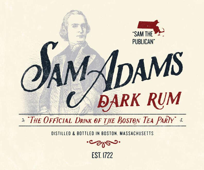 Adams' dark rum