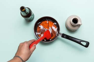 Beer Glazed Bacon — Thrillist Recipes