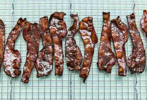 Beer Glazed Bacon — Thrillist Recipes