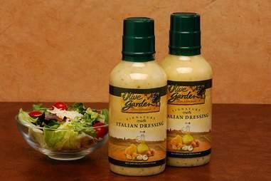 Olive Garden dressings