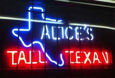 Alice's Tall Texan Drive Inn