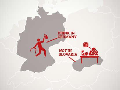 europe food and drink rankings