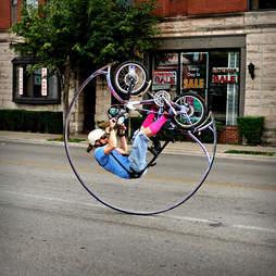 circle bike dude