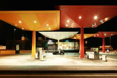 norman foster gas station