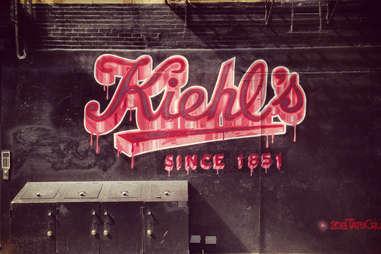 Kiehl's graffiti new york city