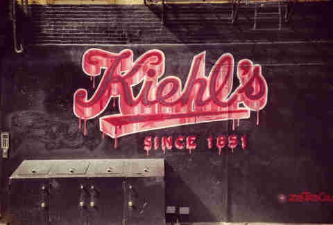 Kiehl's graffiti new york city