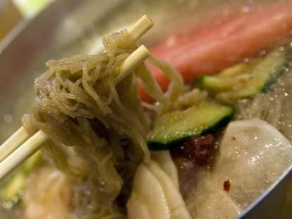 Noodles at Han Joo
