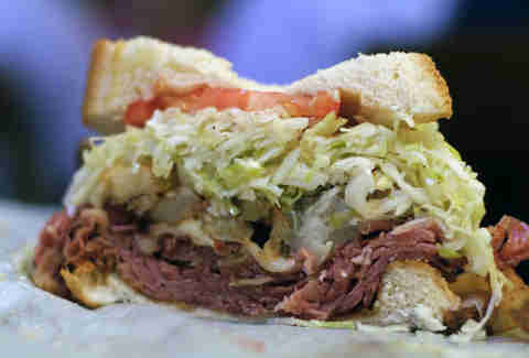 primanti bros pastrami and cheese