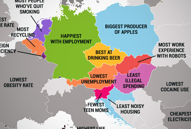 What Every European Country Is Best At The Best Things