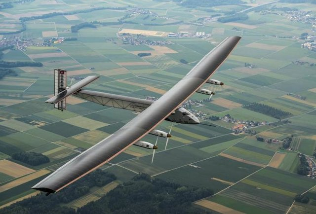 Solar Impulse 2 First Ever Solar Powered Plane To Fly