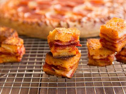 Pizza Croutons — Thrillist Recipes