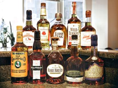 10 Bourbons
