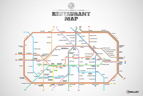 Berlin U Bahn Restaurant Map Berlin Restaurants Near Stations