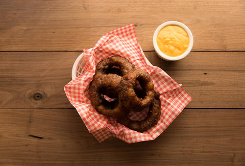 Bacon-wrapped Onion Rings - Thrillist Recipes