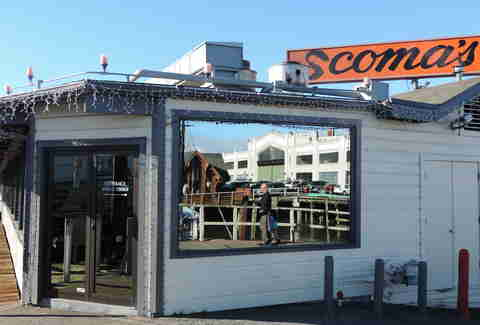 Scoma's seafood restaurant in San Francisco, California
