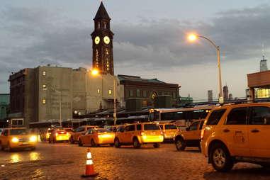 Taxi line Hoboken