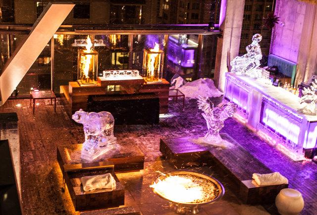 Ice Bar Chicago Vertigo Sky Lounge